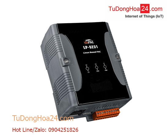 Bộ điều khiển lập trình nhúng PAC CPU AM3354 + OS Linux kernel 3.2.14 + 1 cổng Ethernet + 1 cổng USB ICP DAS LP-5231