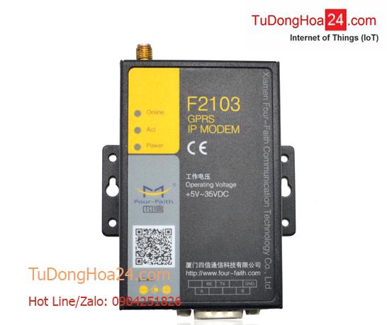 Modem  GPRS IP + RS-232/485 Four-Faith F2103