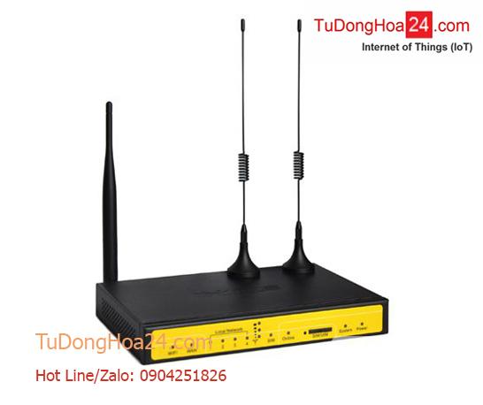 Router công nghiệp WCDMA/LTE (3G/4G) + 4 cổng LAN + 1 cổng WAN + Wi-Fi VPNF3436