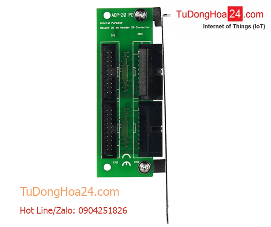 20-pin to 20-pin connector extender for PCI card ICP DAS ADP-20/PCI