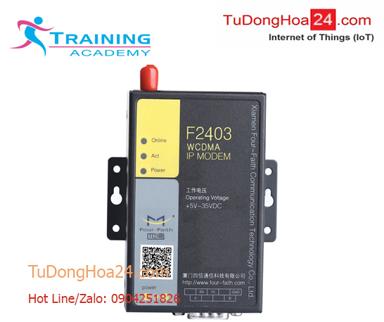 Hướng dẫn cấu hình F2403 WCDMA (3G) IP Modem